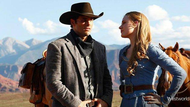James Marsden und Evan Rachel Wood (Bild: HBO)