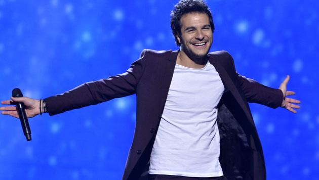 Frankreichs Charmeoffensive heißt Amir und singt 'J'ai Cherche' (Bild: AP)