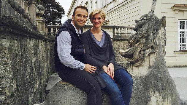 Rückhalt bekommt Bernhard Auinger von seiner Frau Marie-Christin. (Bild: MARKUS TSCHEPP)