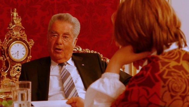 Waren Sie ein guter Präsident, Herr Fischer? (Bild: Gerhard Bartel)
