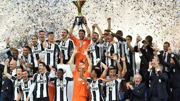 5:0! Meister Juventus beendet die Saison mit Stil (Bild: AFP)