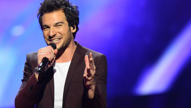 Auch Frankreich setzte heuer auf einen echten Feschak. Und Zahnarzt ist Amir auch noch... (Bild: AFP)