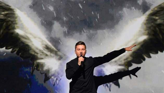 Russlands Sergey Lazarev ging als Favorit ins Rennen um die Krone im ESC. (Bild: AFP)