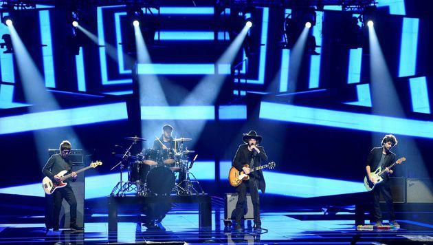 Die Georgier setzten auf Indie-Rock - und Europa gefiel's. (Bild: AFP)