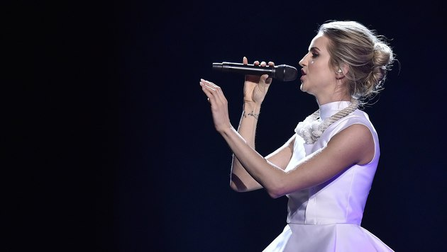 Gabriela Guncikova sang für die Tschechische Republik. (Bild: AP)