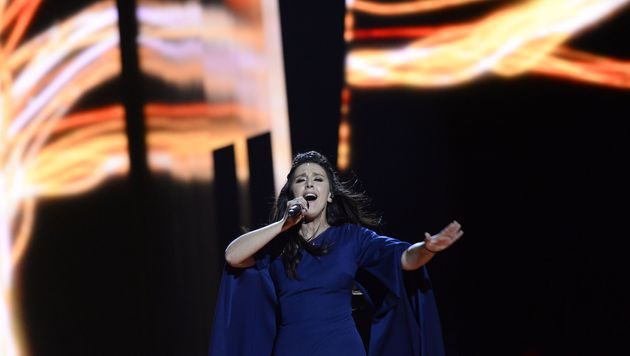 """Jamala sang in """"1944"""" über die Vertreibung ihrer Oma von der Krim. (Bild: AFP)"""