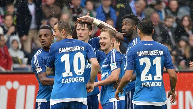 Gregoritsch-Doppelpack bei 3:1-Sieg des HSV (Bild: GEPA pictures)