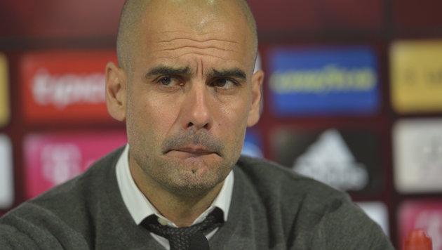 """Guardiola: """"Nicht leicht für einen Ausländer"""" (Bild: GEPA)"""