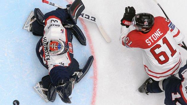 Kanada nach 5:0 über Slowakei im Viertelfinale (Bild: AFP or licensors)
