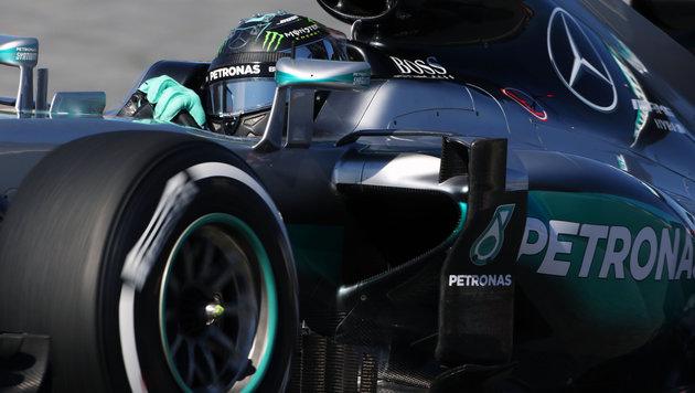 Rosberg auch Schnellster im Abschlusstraining (Bild: GEPA)