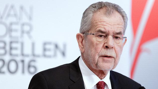Van der Bellen startet Aufholjagd gegen Hofer (Bild: APA/Georg Hochmuth)