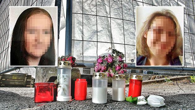Anika W. (links) starb im August 2014. Susanne F. (rechts) wurde am 21. April zu Tode gefoltert. (Bild: Reinhard Holl)