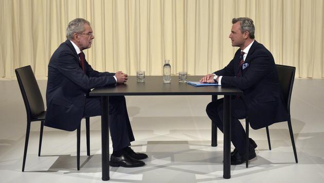 ATV-Duell zur Wahl wird doch wieder moderiert (Bild: APA/HANS PUNZ)