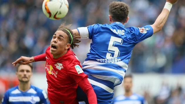 Aufsteiger Leipzig verlor in letzter Saisonrunde (Bild: GEPA)