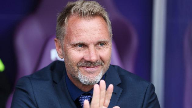 Austria-Coach Fink angeblich Favorit bei Augsburg (Bild: GEPA)