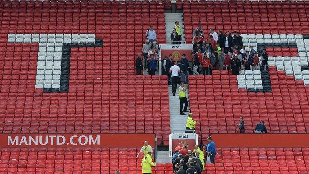 Fans werden evakuiert (Bild: AFP or licensors)