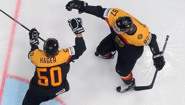 Deutschland nach Sieg praktisch im Viertelfinale (Bild: APA/AFP/ALEXANDER NEMENOV)