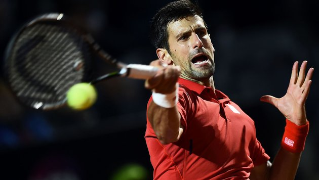 Djokovic ringt Thiem-Bezwinger Nishikori nieder (Bild: APA/AFP/FILIPPO MONTEFORTE)