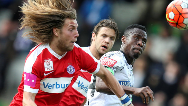 Drei Tore ab Minute 86! Austria besiegt Sturm 3:0 (Bild: GEPA)