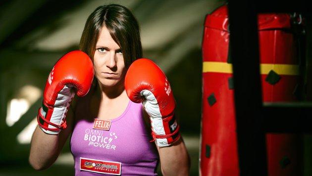 Kickbox-Heldin Trimmel feiert Weltcup-Sieg (Bild: ©florianalbert.net)