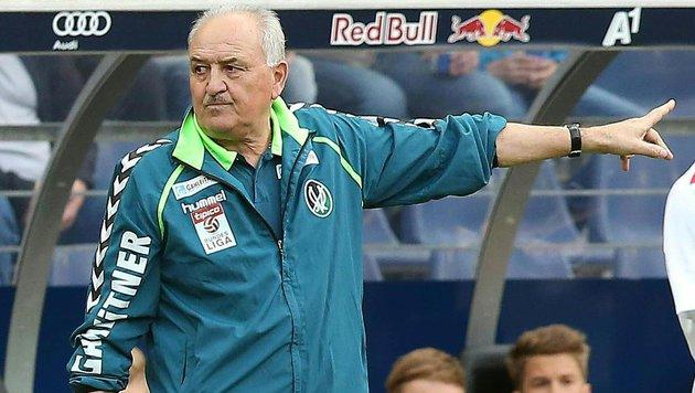 Paul Gludovatz hört fix als Ried-Trainer auf! (Bild: APA/KRUGFOTO)