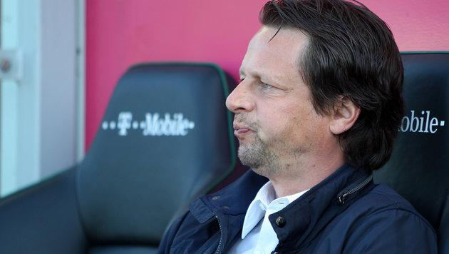 Peter Schöttel nicht mehr Trainer bei Grödig! (Bild: APA/EXPA/ROLAND HACKL)