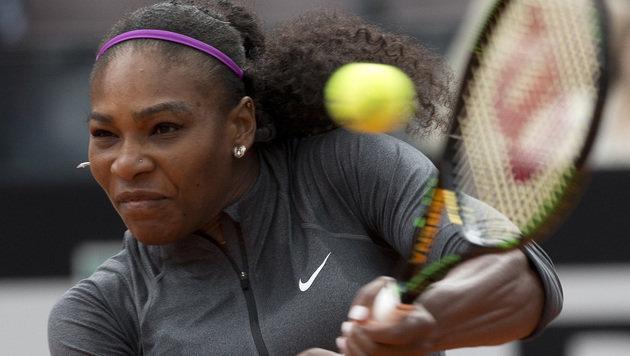 Serena Williams gewinnt in Rom 70. WTA-Titel (Bild: The Associated Press)