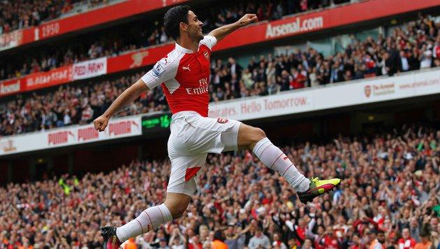 Tottenham-Debakel! Arsenal wird Vizemeister (Bild: AFP or licensors)