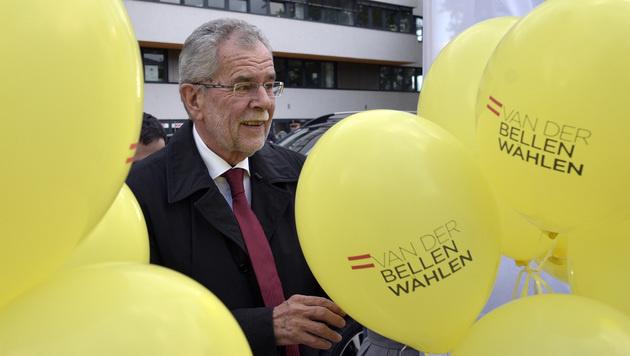 Das ist der Professor, der in die Hofburg einzieht (Bild: APA/HANS PUNZ)