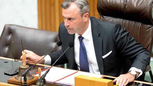 Im Nationalrat ist Hofer schon längst Präsident. (Bild: APA/Roland Schlager)