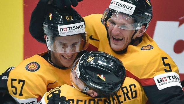 Eishockey-WM: Deutschland fix im Viertelfinale (Bild: APA/AFP/ALEXANDER NEMENOV)