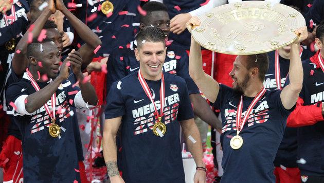 Nach Titel-Hattrick heiß auf die Champions League (Bild: GEPA)