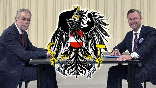 Peinliche ATV-Debatte: DIE wollen in die Hofburg? (Bild: APA/HANS PUNZ)