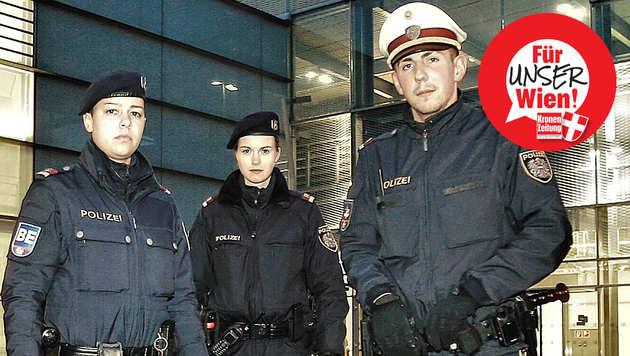 """""""Wir brauchen mehr Beamte und härtere Strafen"""" (Bild: Reinhard Holl)"""