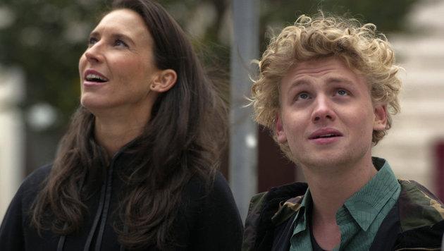 Simon (Johannes Nussbaum) ist der Vater von Waltrauds (Maria Köstlinger) Baby. (Bild: ORF)