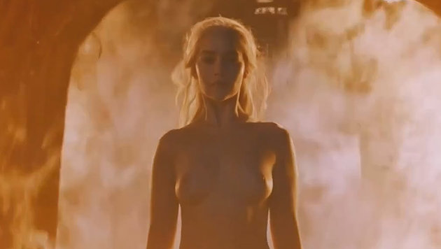 """Emilia Clarke zieht sich für """"Game of Thrones"""" erneut aus. (Bild: HBO)"""