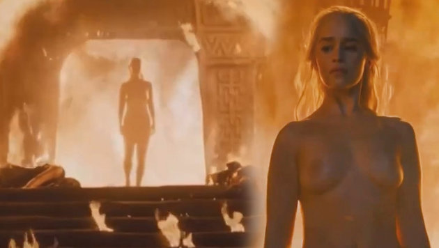 "Emilia Clarke nackt: ""Kein Körperdouble nötig"" (Bild: HBO)"