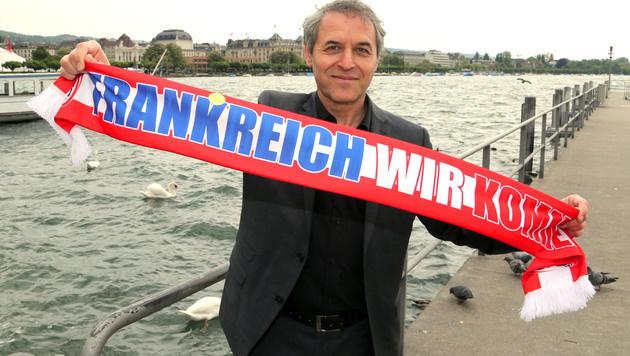 """Koller: """"Leicester ist ein gutes Zeichen für uns"""" (Bild: Gerhard Gradwohl)"""