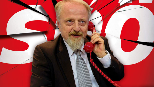 SPÖ-Bundesgeschäftsführer Schmid muss gehen (Bild: Kronen Zeitung, APA/THOMAS LEHMANN)