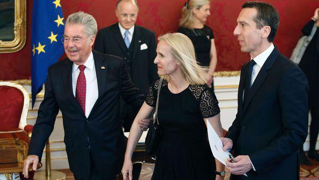 Ära Christian Kern jetzt offiziell besiegelt (Bild: APA/AFP/Dieter Nagl)