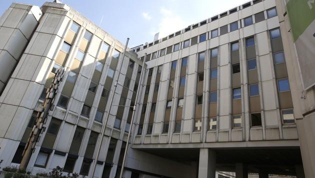 Das Asylquartier in der Erdbergstraße (Bild: Martin A. Jöchl)