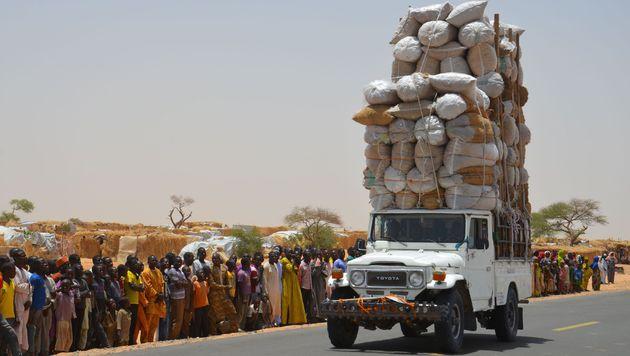 Flüchtlinge im Camp Assaga im Niger (Bild: APA/AFP/BOUREIMA HAMA)