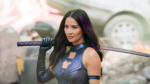 "Olivia Munn als Psylocke in ""X-Men"" (Bild: Viennareport)"