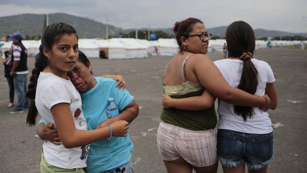 Doppel-Erdbeben erschütterte Ecuador (Bild: APA/AFP/CHARLY PARRAGA)