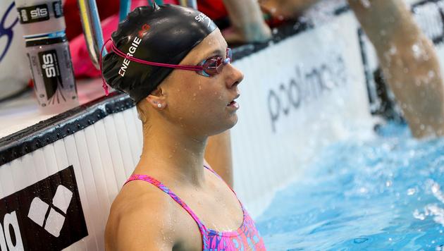 Lisa Zaiser im Semifinale über 200 m Lagen (Bild: GEPA)