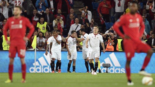 Liverpool: Statt Triumph das völlige Desaster (Bild: AP)