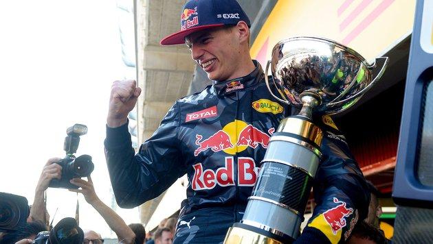 Max Verstappen ist auch bei Tests Nummer eins (Bild: JOSEP LAGO)