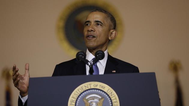 """""""Einer der wichtigsten Schritte"""" seiner Regierung zur Einkommenssteigerung der Mittelschicht: Obama (Bild: AP)"""