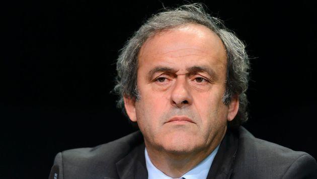 Platini trotz Suspendierung weiter UEFA-Präsident (Bild: AFP)