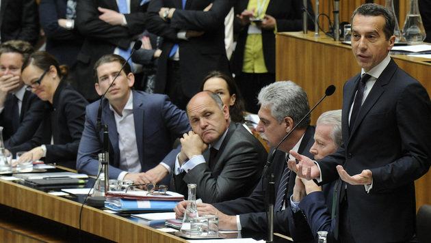Analyse: Was uns der neue Bundeskanzler sagen will (Bild: APA/HERBERT PFARRHOFER)